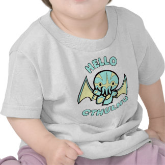 Hello Cthulhu Tee Shirts