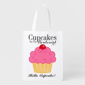 Hello Cupcake Grocery, Gift, Favor Bag - SRF