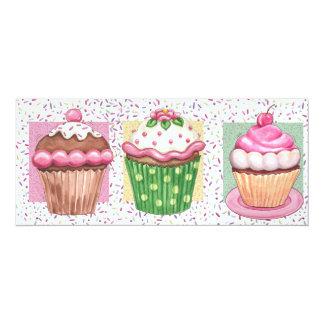 Hello Cupcake! - SRF 4x9.25 Paper Invitation Card