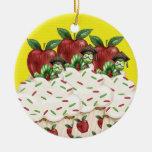 Hello Cupcake - Teacher ! SRF Christmas Tree Ornament