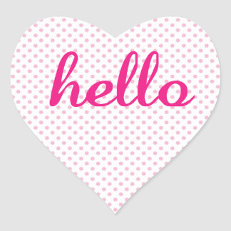 Hello Cute Colorful Hello Gifts Stickers