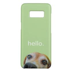 Case-Mate Barely There for Samsung Galaxy S8 Case with Beagle Phone Cases design