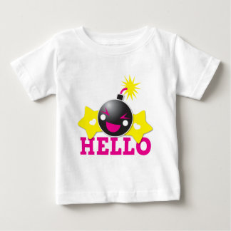 Hello cute smiling bomb baby T-Shirt