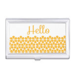 Hello Daisy Case For Business Cards
