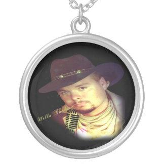 Hello Darling Round Pendant Necklace
