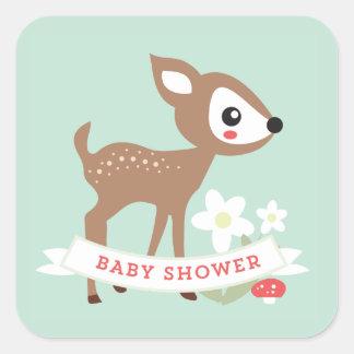 Hello Deer! Baby Shower Stickers