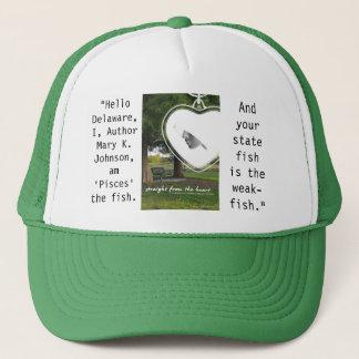 Hello Delaware Trucker Hat