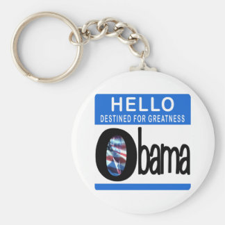 Hello Destined For Greatness Keychain