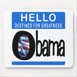 Hello Destined For Greatness Mouse Pad