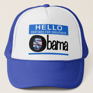 Hello Destined For Greatness Trucker Hat
