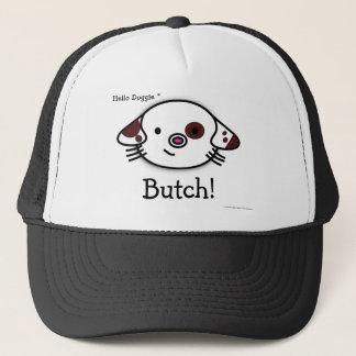 Hello doggie! trucker hat