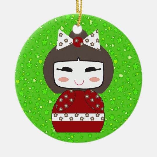 Hello Doll - SRF Ceramic Ornament