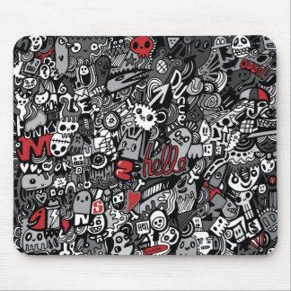 Hello Doodle Mousepad