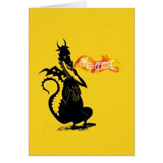 HELLO DRAGON CARD