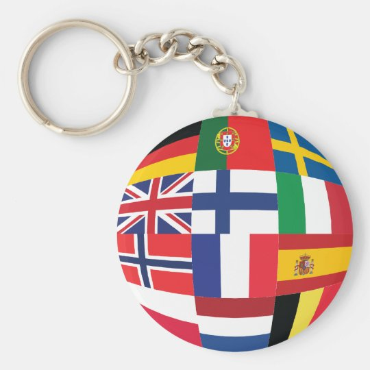 Hello Europe:) Keychain