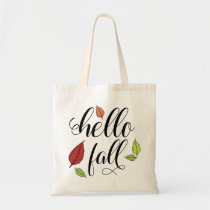Hello Fall Tote Bag