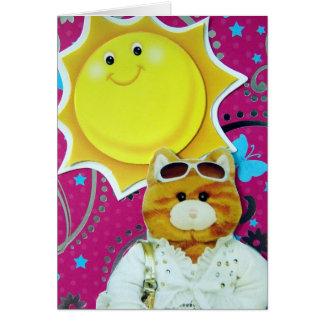 Hello, Fancy Cat! Card
