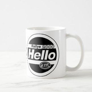 Hello Fella Rally Lights Coffee Mug