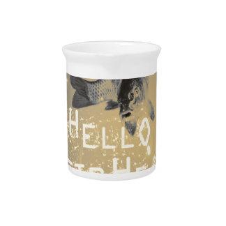 Hello fisher drink pitcher