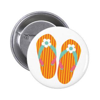 Hello Flip Flops Pin
