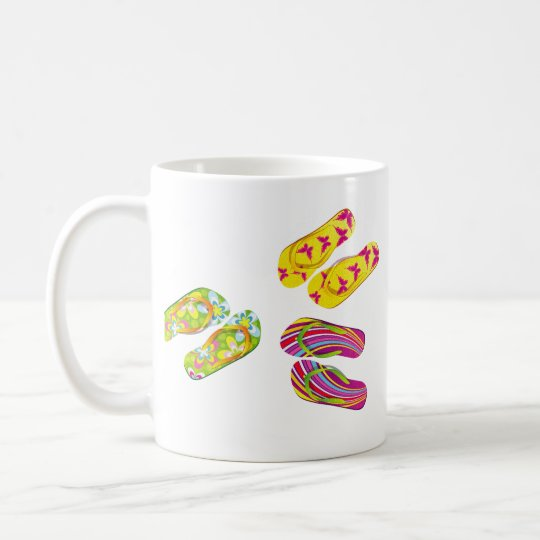 Hello Flip Flops Coffee Mug