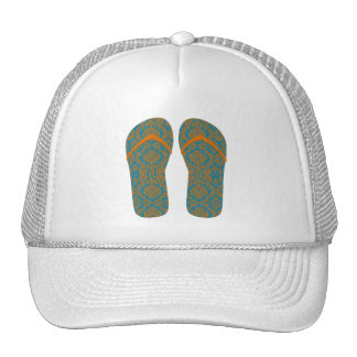 Hello Flip Flops Mesh Hats