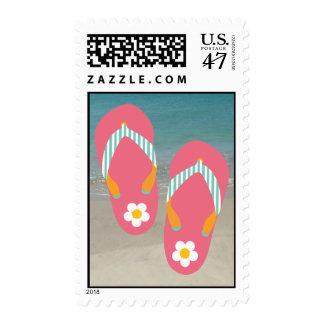 Hello Flip Flops Postage