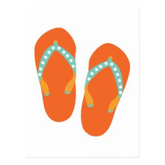 Hello Flip Flops Postcard