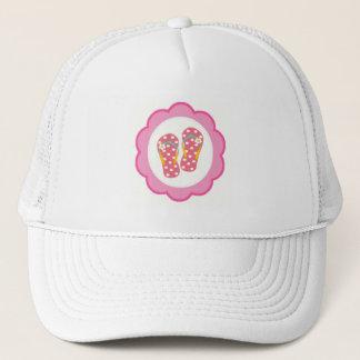 Hello Flip Flops Trucker Hat