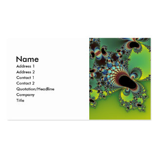 Hello - Fractal Double-Sided Standard Business Cards (Pack Of 100)