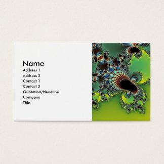 Hello - Fractal Business Card