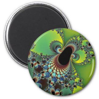Hello - Fractal Refrigerator Magnets