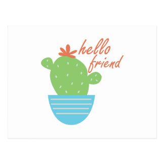 Hello Friend Postcard