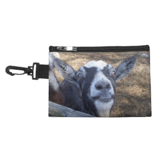 Hello Friendly Goat Accessory Bags