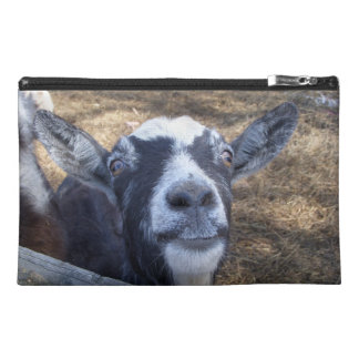 Hello Friendly Goat Travel Accessories Bags