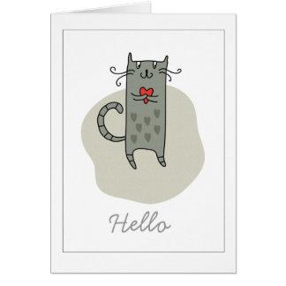 Hello Friendship Note Card