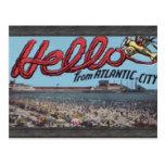 Hello From Atlantic City , Vintage Postcards
