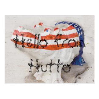 Hello from Hutto Postcard