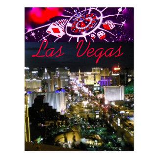 Hello from Las Vegas Boulevard Postcard