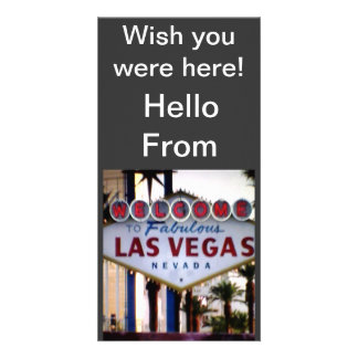 Hello From Las Vegas, Nevada Post Card