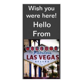 Hello From Las Vegas, Nevada Post Card