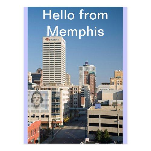 Hello From Memphis Tenn Postcard