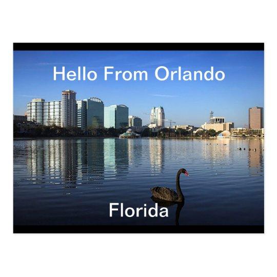 Hello From Orlando, Florida  Postcard