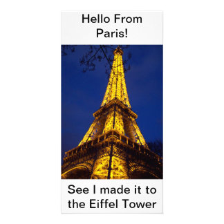 Hello from Paris Post Card