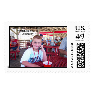 Hello! From Pineapple Willy'sPanama City Beach,... Stamps