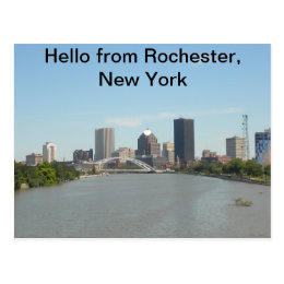 Hello from Rochester, New York Postcard