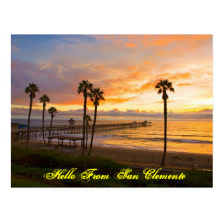 Hello from San Clemente Postcard