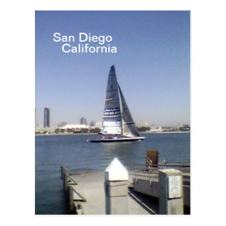 Hello from San Diego Postcard
