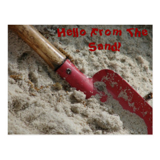 Hello From The Sand! Postcards