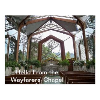 Hello from the Wayfarers' Chapel  Postcard